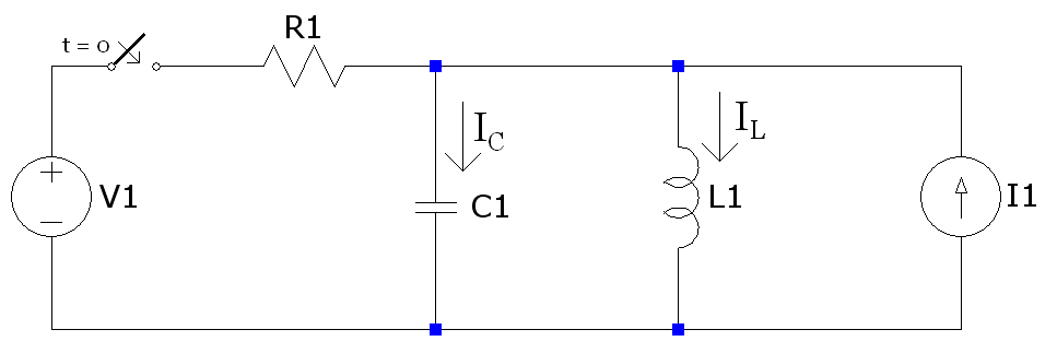 Suppose you have the following circuit. The switch