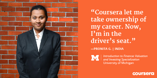 Learner story: Building the confidence to switch career paths